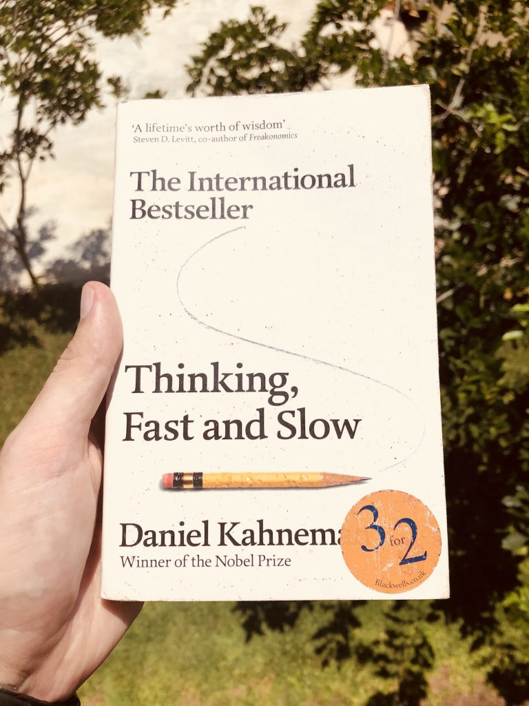Picture of book - Thinking, Fast and Slow